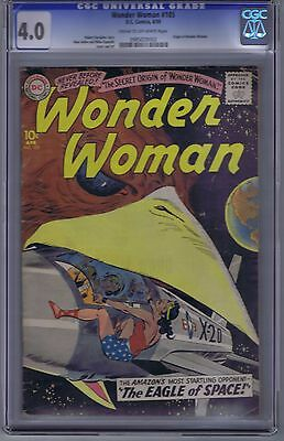 Wonder Woman #105 DC Pub 1959 CGC 4.0 (VERY GOOD)