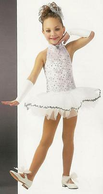 SNOWFLAKE Ballet Tutu Dance Costume Christmas Child Extra Small