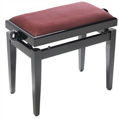 Stagg Highgloss Black Piano Bench without top