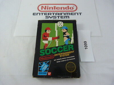 nintendo NES: SOCCER -pal B- complete in box
