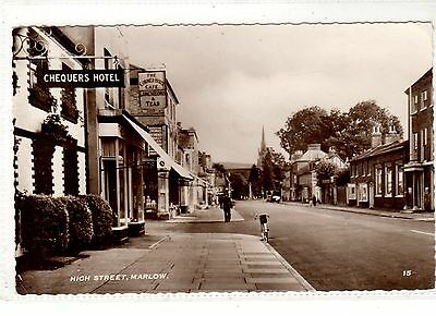 Buckinghamshire. Marlow High Street.