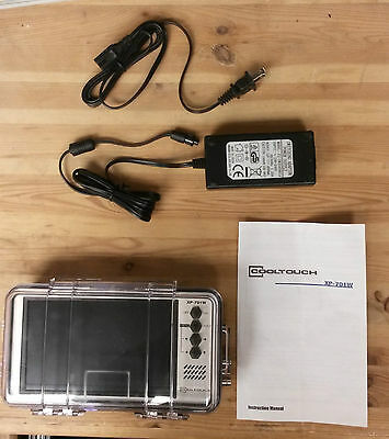 Cooltouch XP 701 W Waterproof Video Monitor Brand New