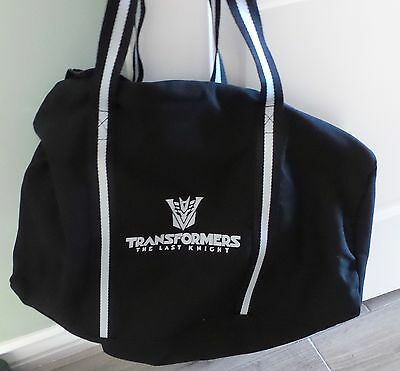 Transformers The Last Knight Movie Promotional Promo Duffle Bag