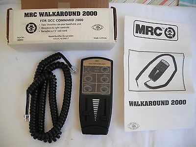 MRC AD300 Walkaround 2000 for DCC Command 2000, 2 Throttles, Direction Controls