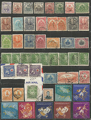 Haiti  nice SELECTION of used stamps