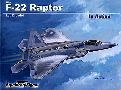 20052/ Squadron Signal - In Action 223 - F-22 Raptor - TOPP HEFT