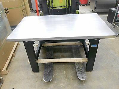 """Tmc Micro-G 63-571 60"""" X 3"""" Vibration Isolation Table Stainless Steel Top"""