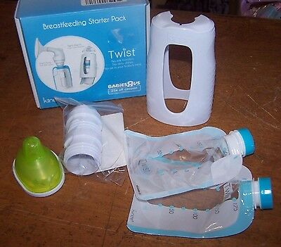 Kinde Twist Direct Pump System Sample Kit Brand New Breastfeeding Starter