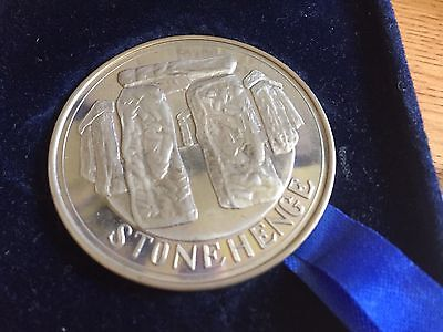 Stonehenge Exclusive Edition Solid Nickel Silver Medallion Tower Mint