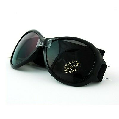 Baby Banz Retro Sunglasses 100% UVA/UVB Protection (Ages 0-2yrs) Black
