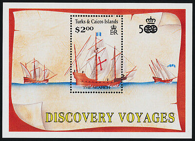 Turks & Caicos 892 MNH Ships, Christopher Columbus