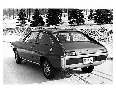 1972 Renault 15 Coupe Factory Photo ub1769