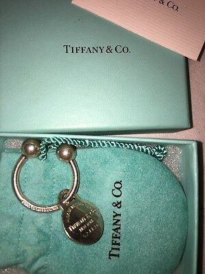 Tiffany Keyring In Sterling Silver