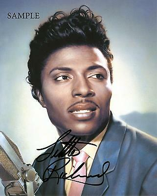 Little Richard Autographed Reprint Photo Picture Signed 8X10 Christmas Gift Rp