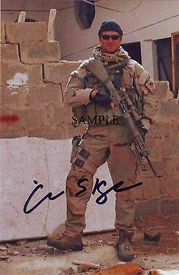 Chris Kyle #4 Reprint Autographed Picture Signed Photo 8X10 American Sniper Rp