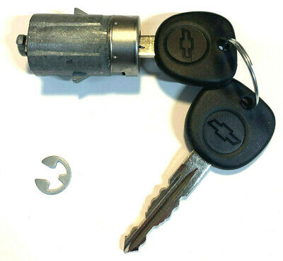 NEW 2007-2014 Chevy Silverado OEM Door Key Lock Cylinder Switch W/2 Logo Keys