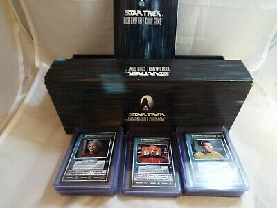 Star Trek Ccg All Good Things, Complete Set Of 41 Cards