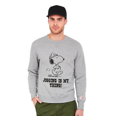 TSPTR - Jogging Is My Thing Sweatshirt Grey Marl Pullover Rundhals