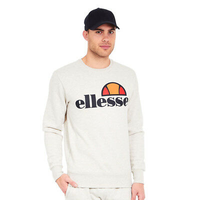 ellesse - Succiso Crew Sweat Oatmeal Marl Pullover Rundhals
