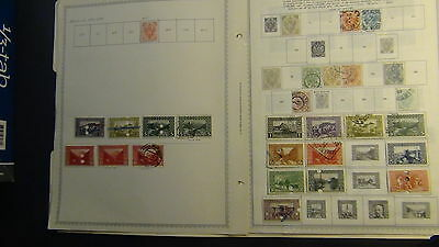 Bosnia stamp collection on Minkus pages