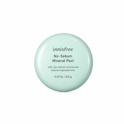Innisfree No Sebum Mineral pact 8.5g Free gifts