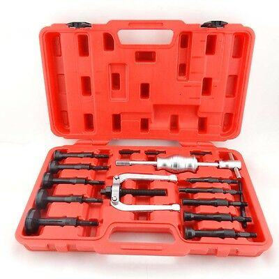 16pcs Inner Bearing Puller Set Internal Extractor Set Blind Hole Removal Kit