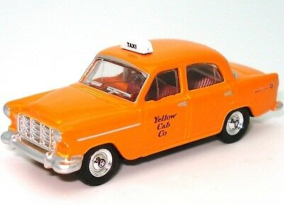Ho Gauge 1958 Fc Yellow Cabs Taxi - New Diecast In Display Case