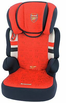 TT Befix Arsenal High Back Booster Seat Groups 2-3.