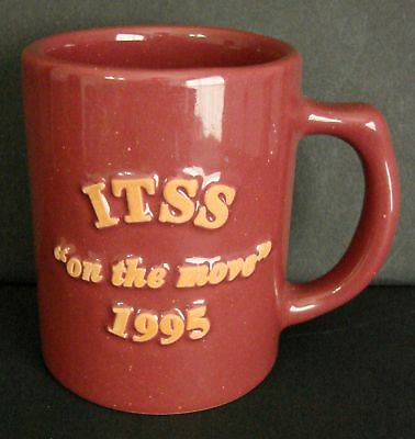 Vintage Frankoma ITSS Coffee Cup Mug 1995 Information Technology
