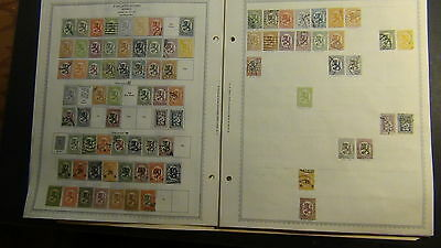 Finland stamp collection on Minkus pages to '90