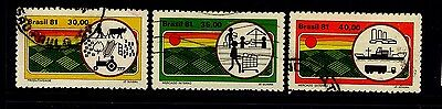 Brazil - 1981 Agricultre set  - Used