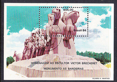 Brazil - 1984 90th Ann Victor Brecheret MS