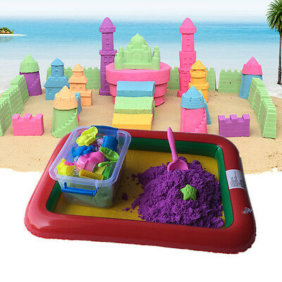 50g Kinetic Magic Motion Colorful Sand Kid Child Indoor Play DIY Craft Non Toxic
