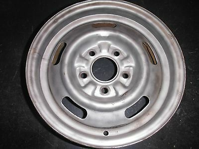 "(1) 68 CHEVY CHEVELLE XB CODE 14"" x 6 DISC BRAKE RALLY WHEEL SS SS396 ELCAMINO"