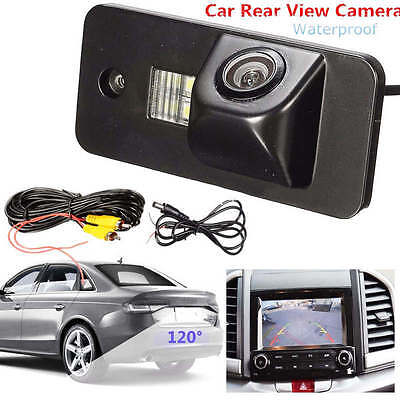 120° Car License Rear View Reversing Camera Waterproof For Audi A3 A4 A5 RS4 Q7