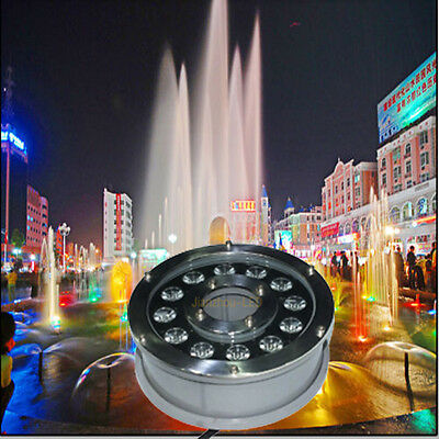 9W 12W RGB Mulit-Color LED Fountain Pool Light Spa Pond Flood Underwater 12V