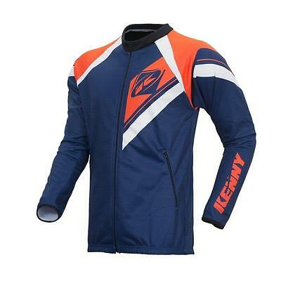 KENNY MX Jacke Enduro - navy-neonorange Motocross Enduro MX Cross