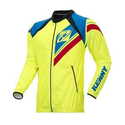 KENNY MX Jacke Enduro - neongelb-blau-rot Motocross Enduro MX Cross