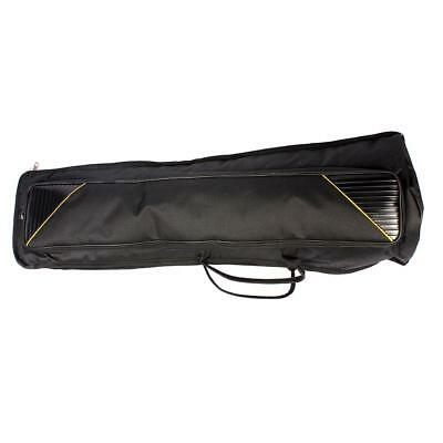 Black Oxford Fabric Bag for Tenor Trombone Protection Stage Accessory 910mm