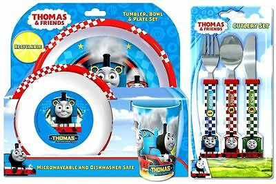 Thomas 6-Piece Dinner & Cutlery Set - Tumbler Bowl Plate Knife Fork & Spoon