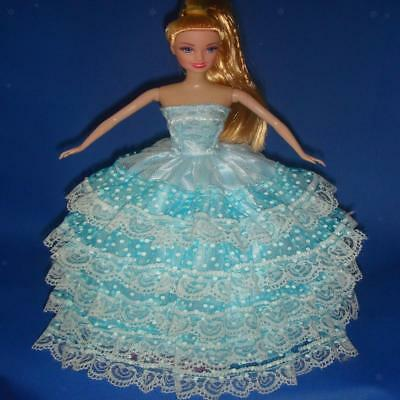 4x Princess Evening Wedding Party Clothes Dress Lot Wears Outfit for Barbie