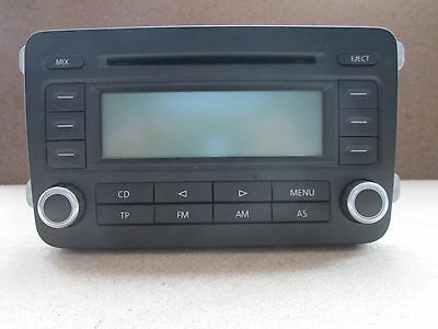 vw golf 5 v 1k bj 2005 radio cd rcd 300 1k0057186p. Black Bedroom Furniture Sets. Home Design Ideas