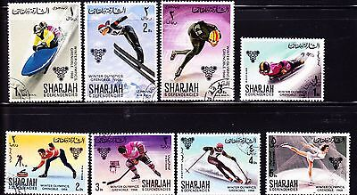 Stamps/Arabian: 23 different CTO/UNUSED/South Arabia, Dubai, Sharjah & Yemen