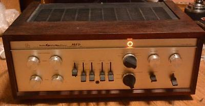 Vintage 70s year Luxman SQ-38FD stereo tube premain amplifier * 30W