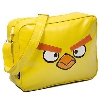 Angry Birds Official Merchandise Yellow Messenger Shoulder Bag School College