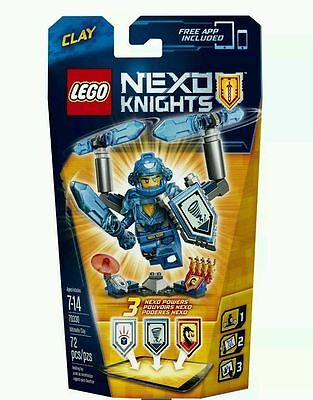 LEGO Nexo Knights 70330: ULTIMATE Clay  Set - Brand New And Sealed