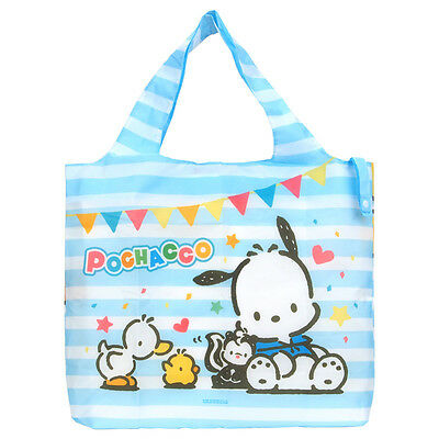 2016 Sanrio Pochacco PC Dog Foldable Reusable Tote Shopping Bag Free Shipping