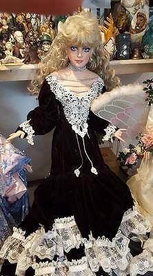 """Rustie porcelain doll 40"""" One of a kind original doll 1 of 1 made in 1996"""