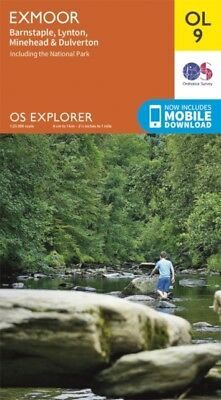 OS Explorer OL9 Exmoor (OS Explorer Map) (Map), Ordnance Survey, ...