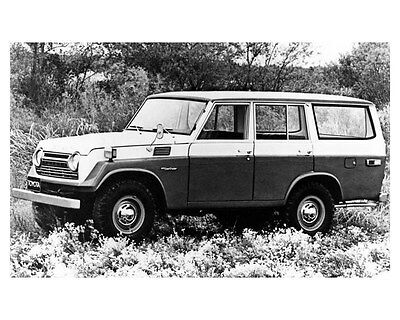 1975 Toyota Landcruiser Estate Wagon Factory Photo ub1967